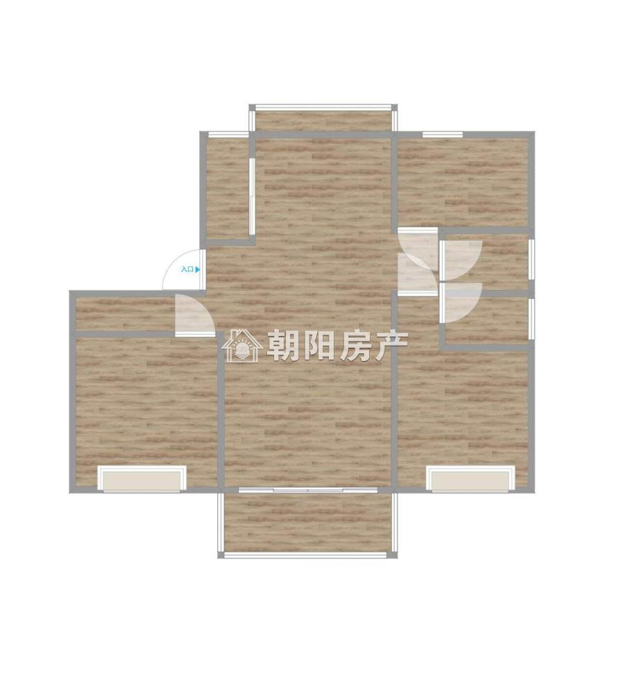 晟地绿园6室3厅4卫209.05平方146.00万