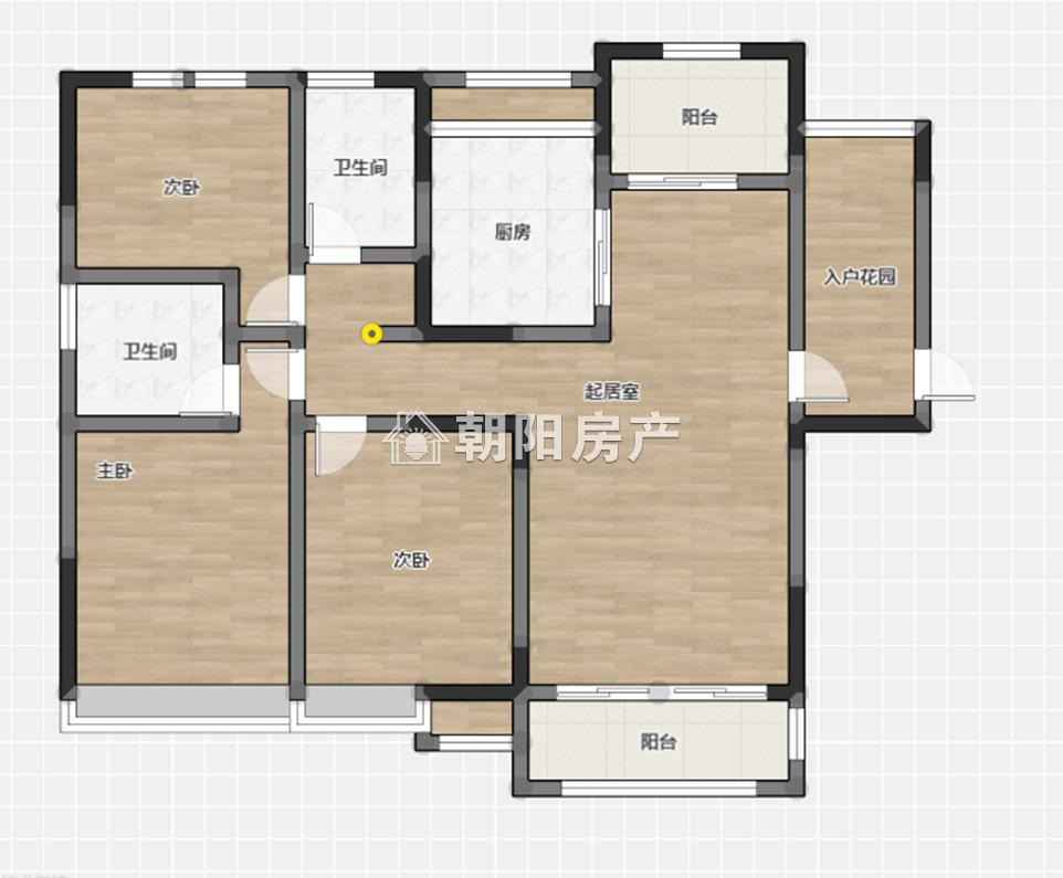 泉山湖香颂小镇N区3室2厅2卫123.62平方95.00万