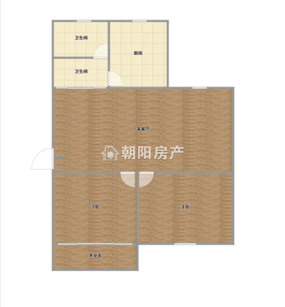 南苑一期2室2厅1卫74.25平方31.00万