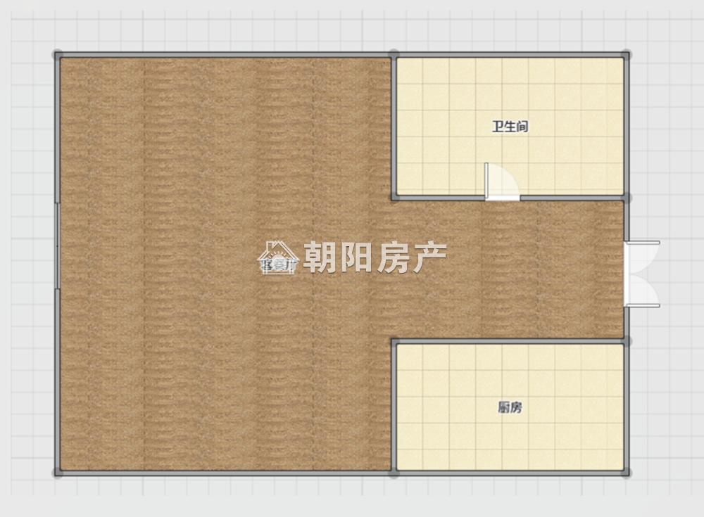 龙湖中心1室1厅1卫44.00平方26.00万